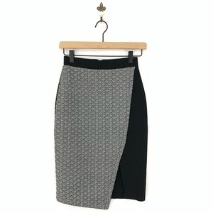 Anthropologie HD in Paris Addie Pencil Skirt Sz 0